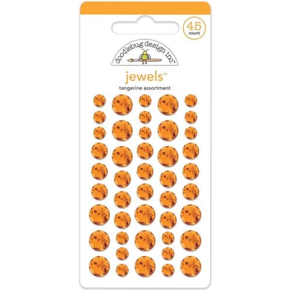 Doodlebug Jewels - Tangerine