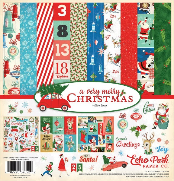 A Very Merry Christmas Paper Pack
