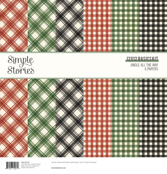 Jingle All the Way Simple Basics Paper Pack