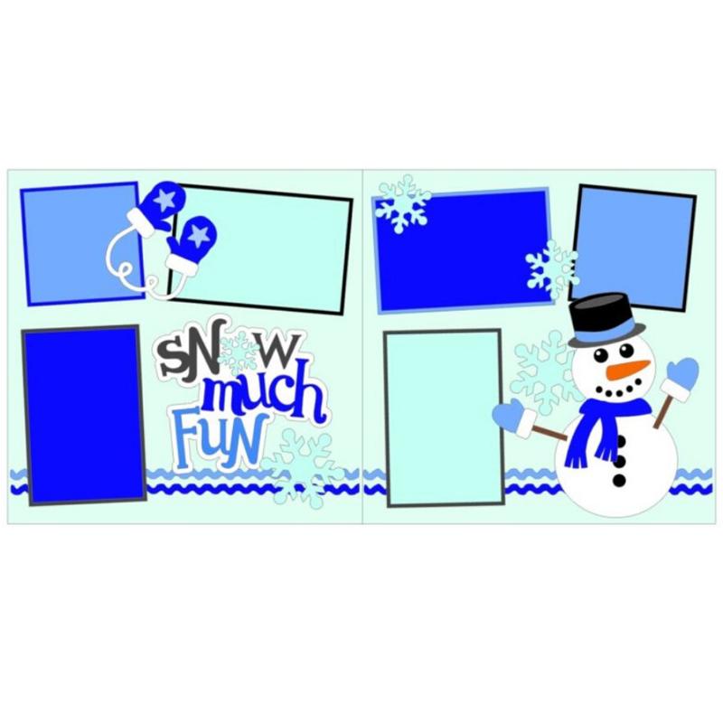 Snow Much Fun Boy kit