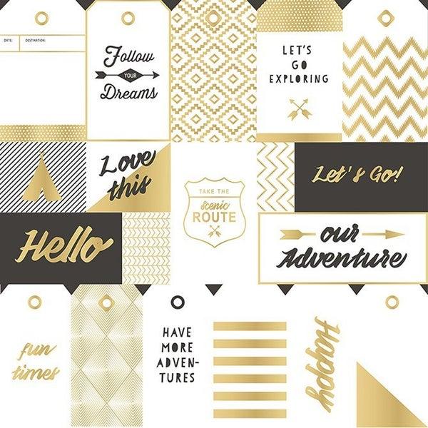 Journey Gold Foil Overlays