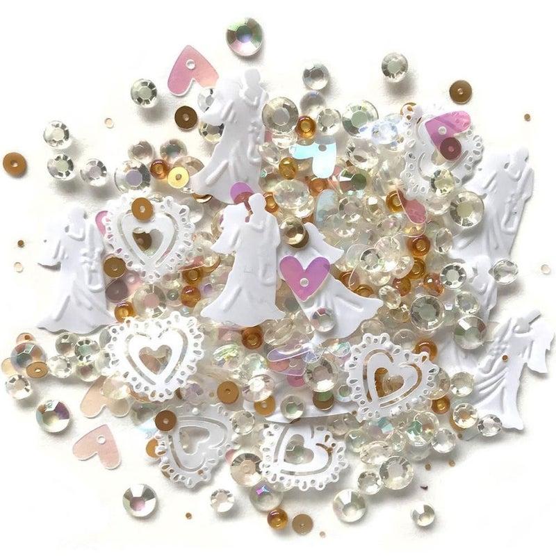 Sparkletz Embellishment Pack - Just Married