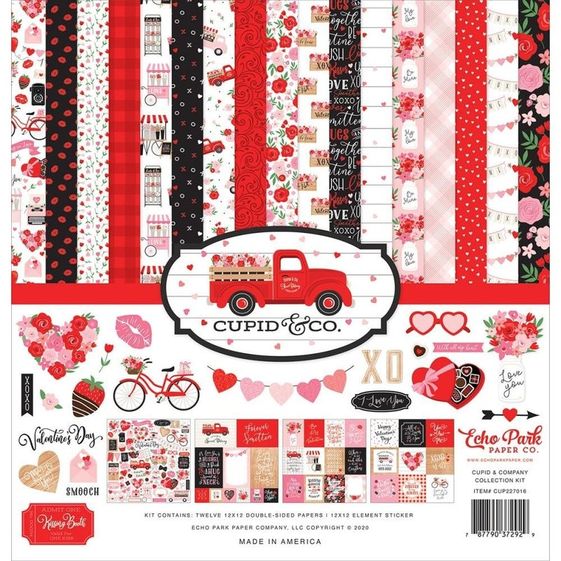 Cupid & Co Valentine Paper Pack