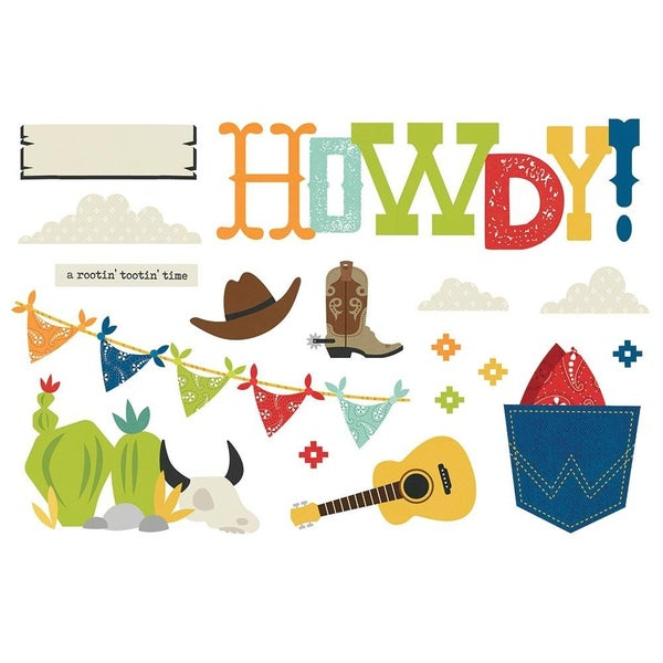 Howdy! Page Pieces