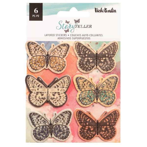 Vicki Boutin Storyteller Layered Butterflies