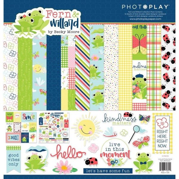 Fern & Willard Paper Pack