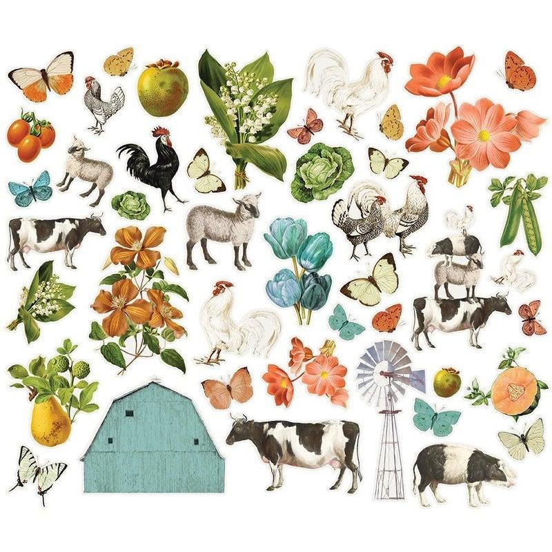Simple Stories Farmhouse Garden Die Cuts