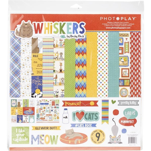 Whiskers Paper Pack