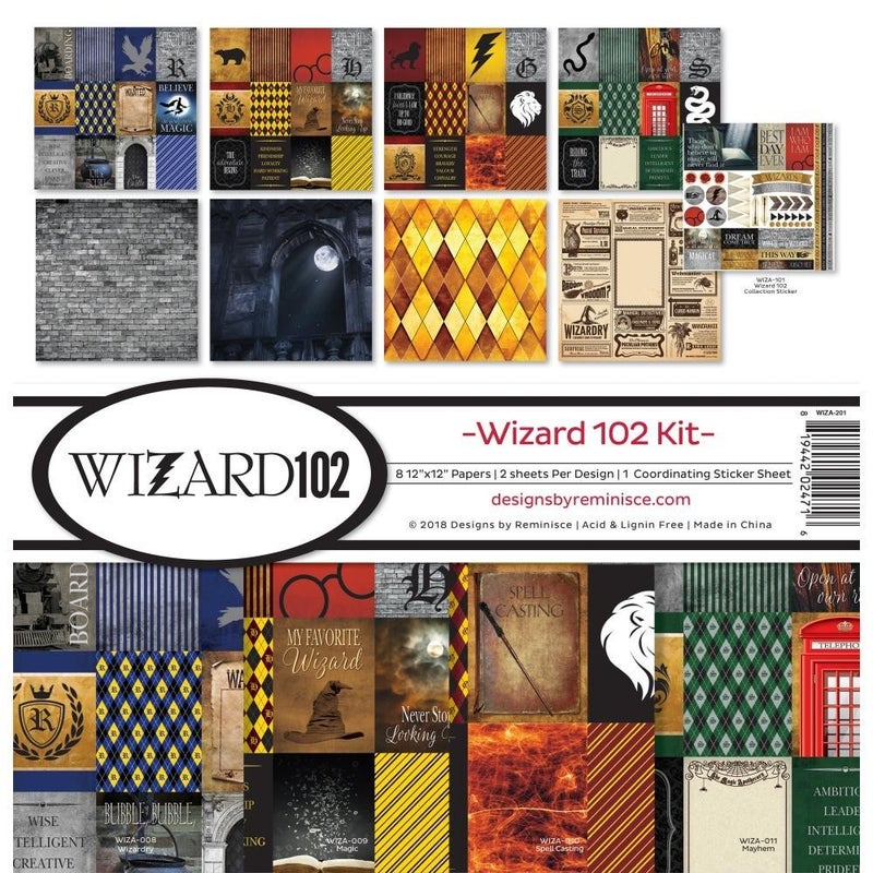 Wizard 102 Paper Pack