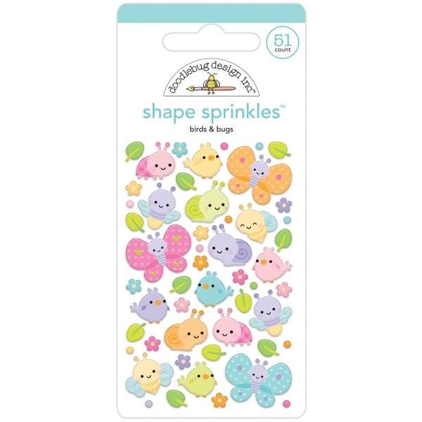 Doodlebug Shapes - Birds/Bugs