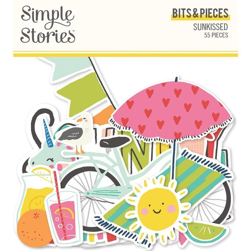 Simple Stories Sunkissed Summer Bits & Pieces Die Cuts