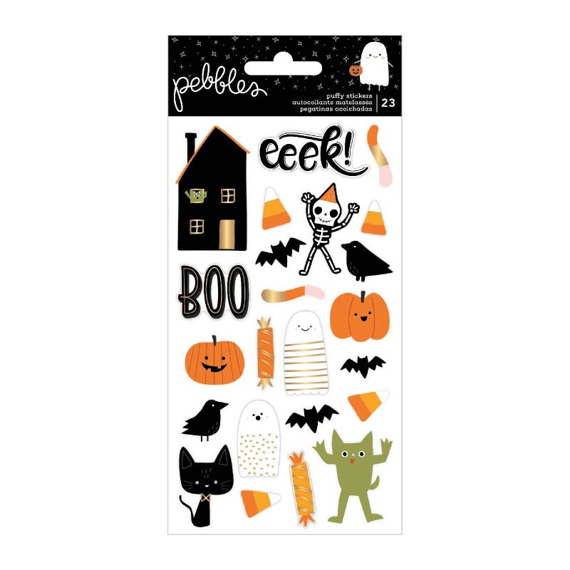 Spooky Icon Puffy Stickers