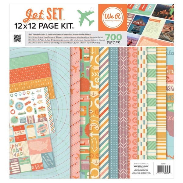 We R Memory Keepers Jet Set Page Kit Pack