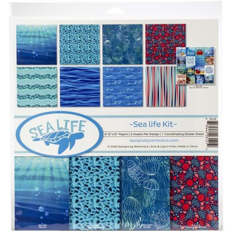Sea Life Paper Pack