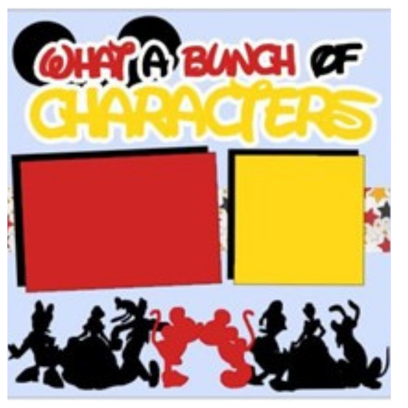 What a Bunch of Characters Kit Disney