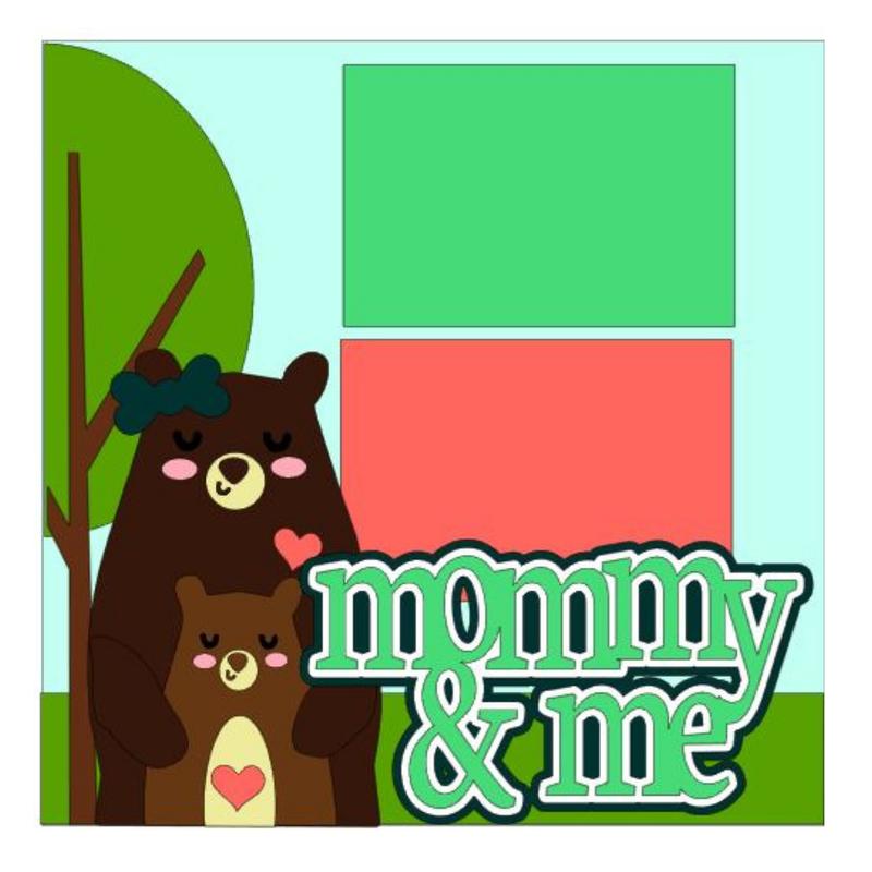 Mommy & Me Bears kit