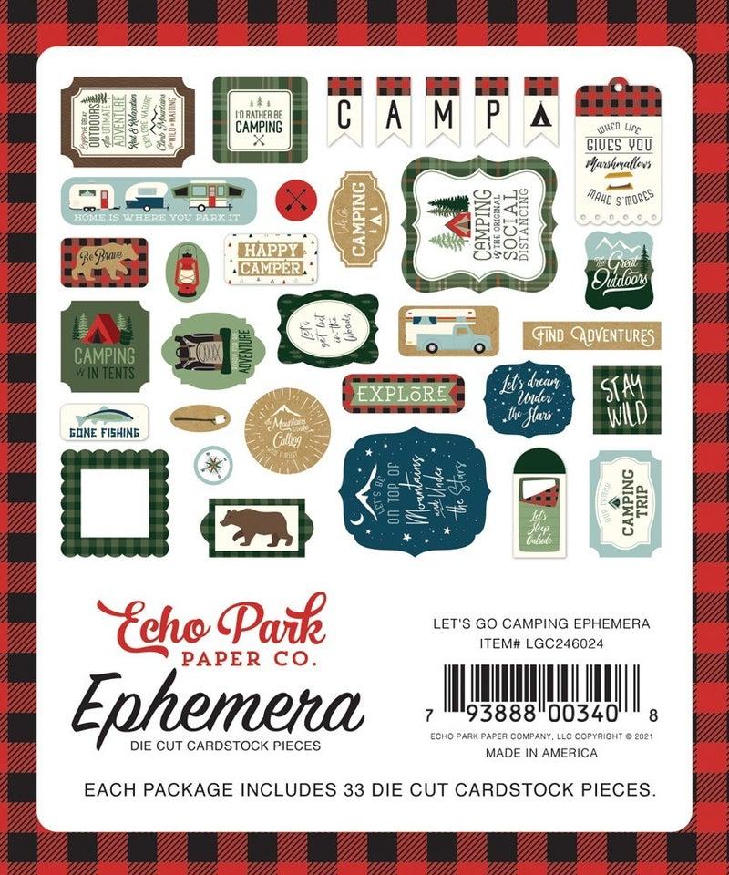 Let's Go Camping Ephemera
