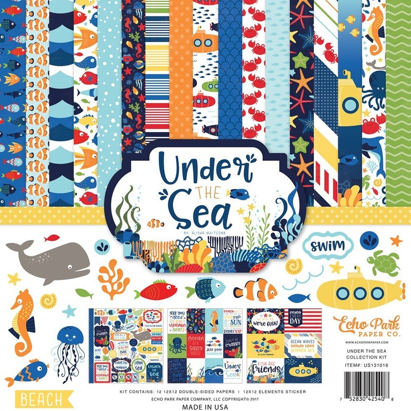 Under the Sea Paper Pack