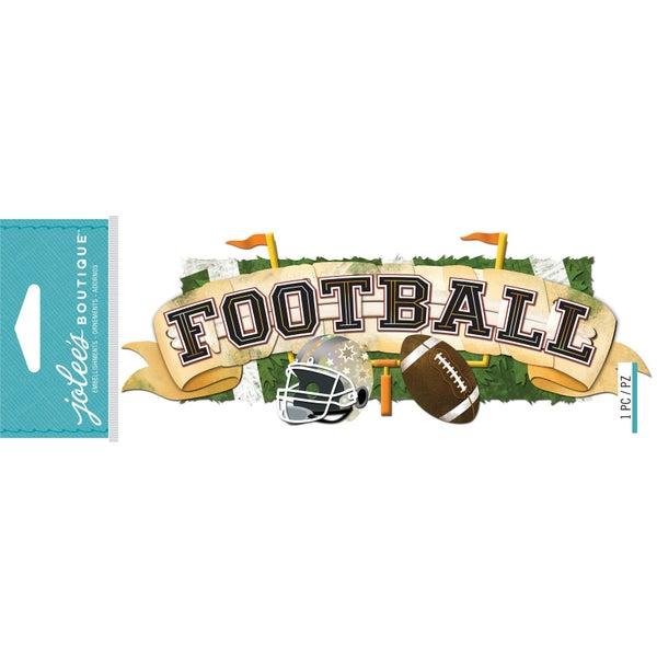 Football 3D Title