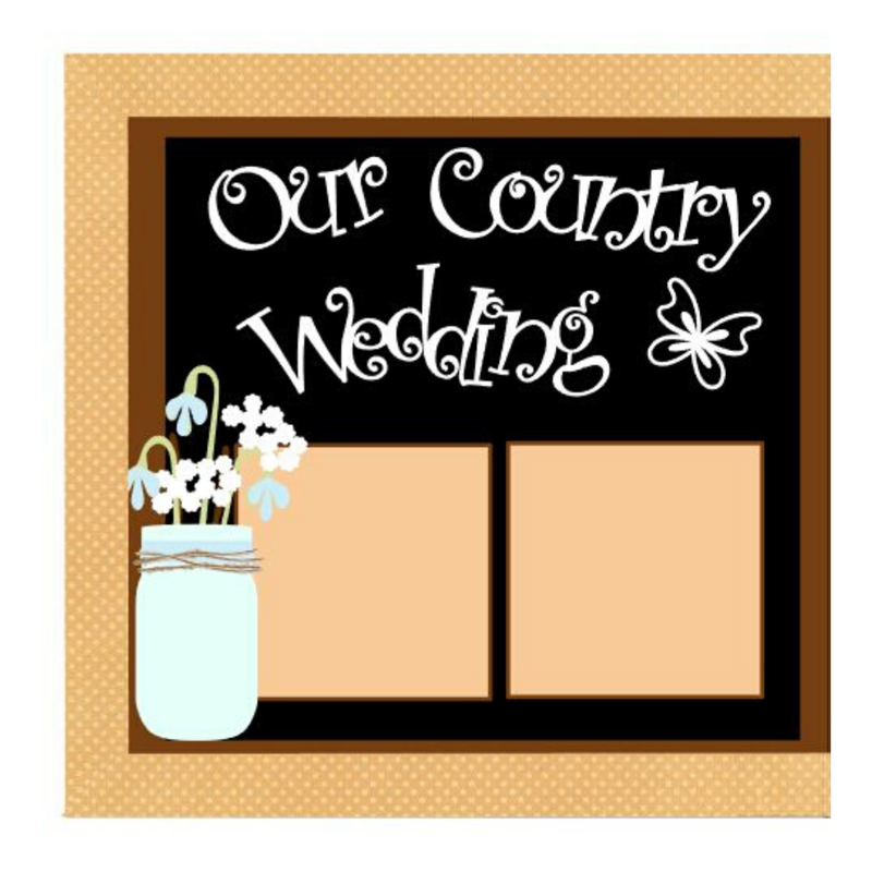 Our Country Wedding kit
