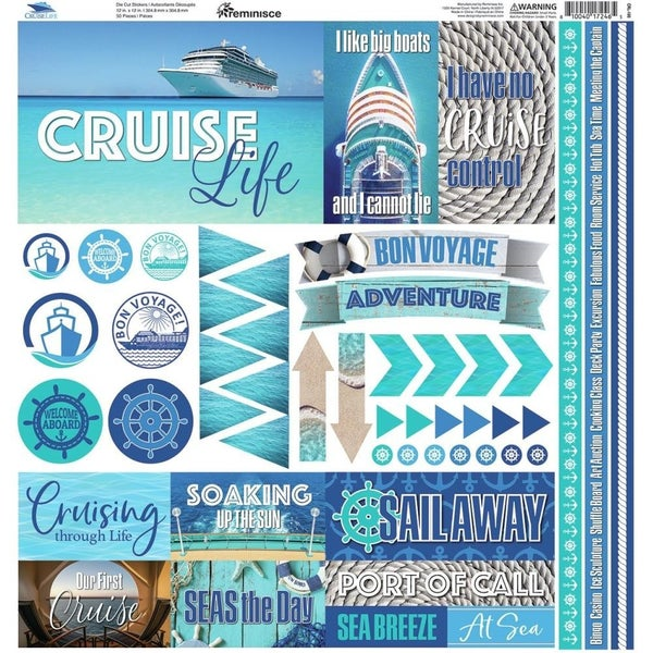 Cruise Life Sticker Sheet
