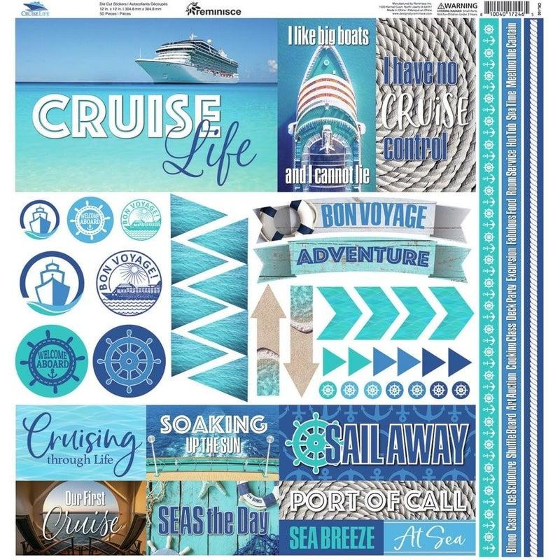 Cruise Life Sticker Sheet