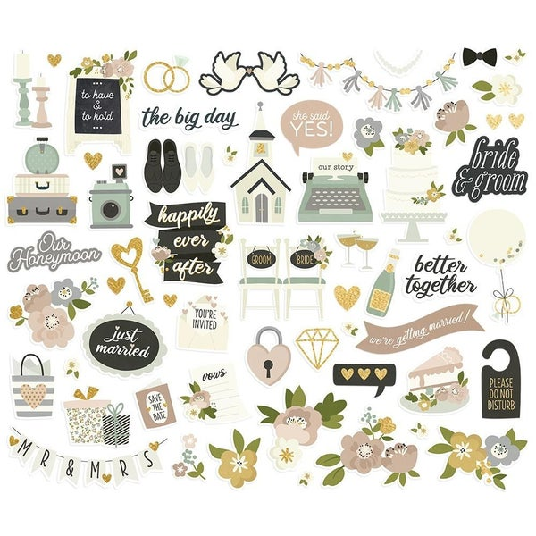 Happily Ever After Bits & Pieces Die Cuts