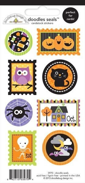 Halloween Seal Stickers
