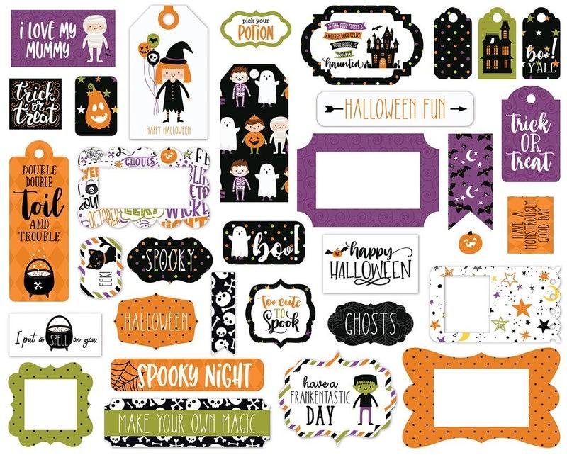 Halloween Magic Frames & Tags