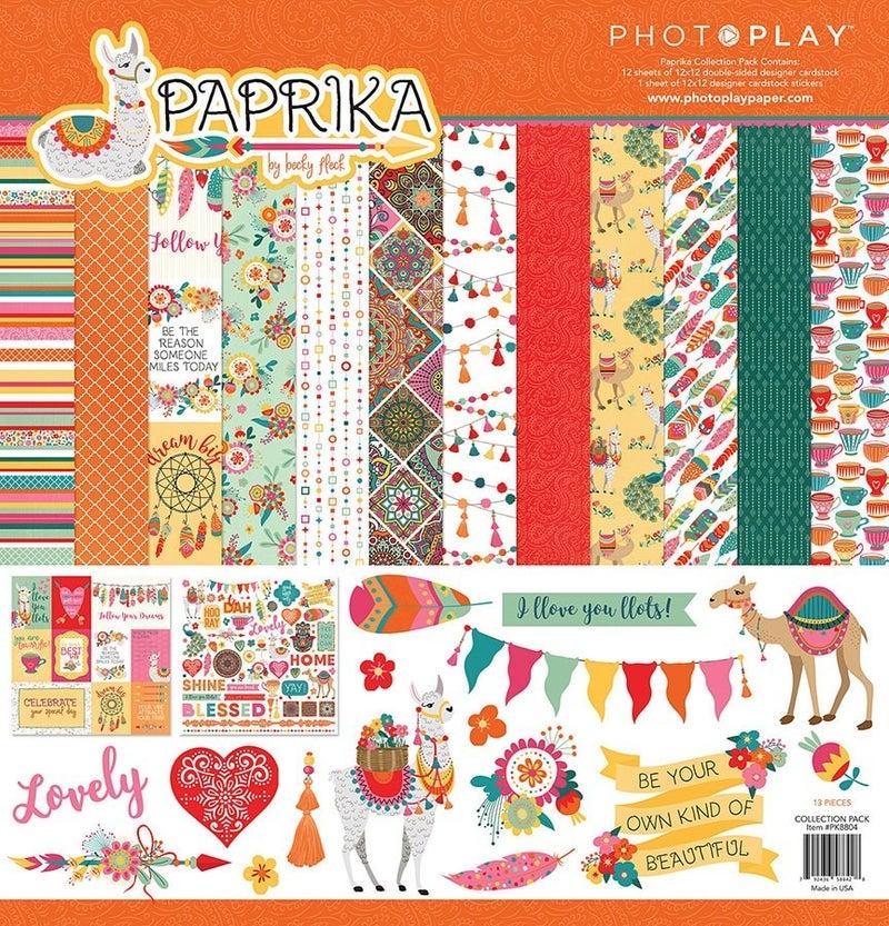Paprika Paper Pack