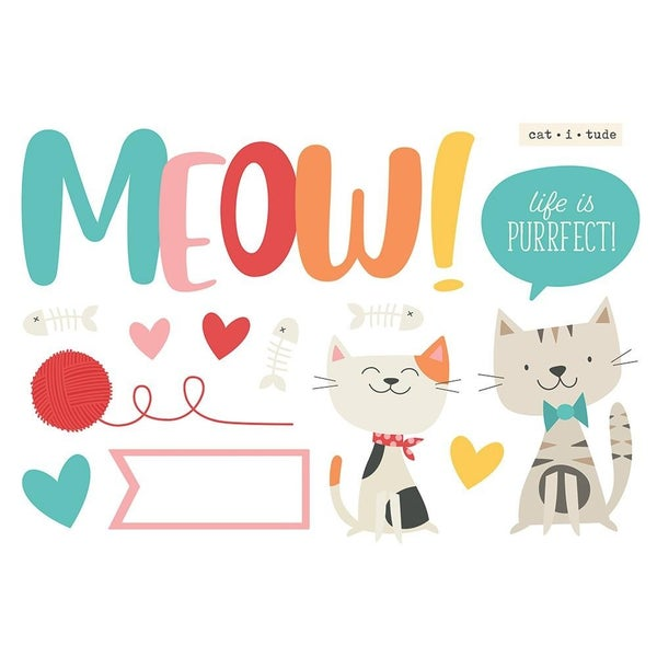 Meow Page Pieces