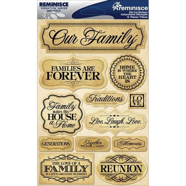 Family 3D Sticker