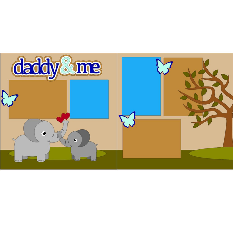 Daddy & Me Elephants Kit