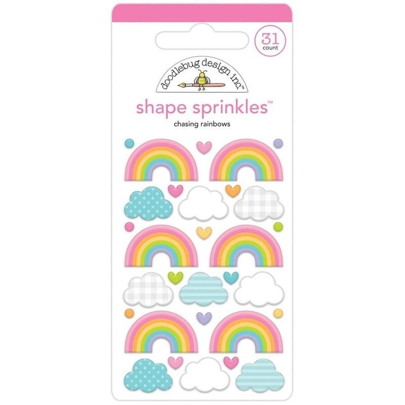 Doodlebug Shapes - Chasing Rainbows