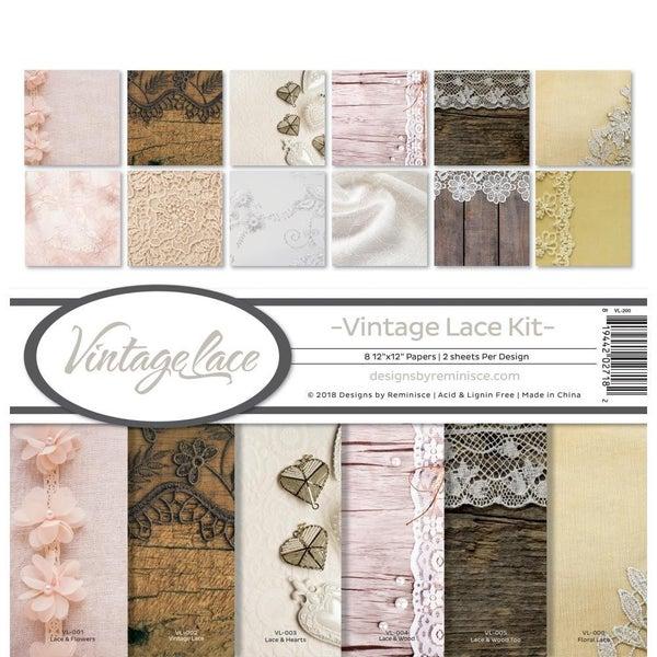Vintage Lace Paper Pack