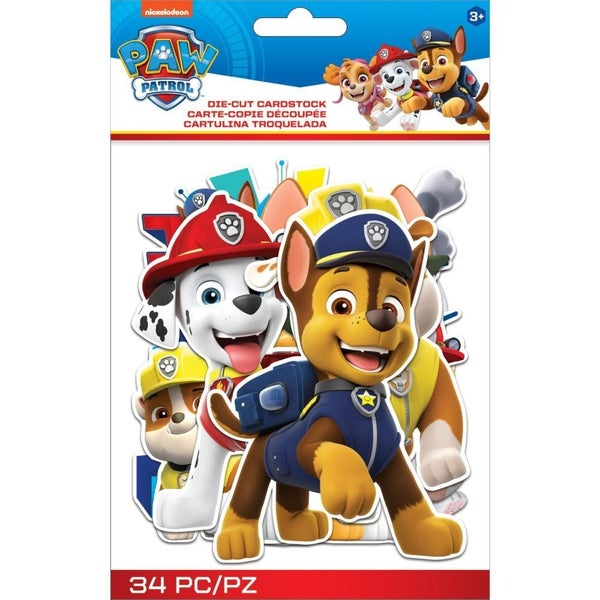 Paw Patrol Die Cut Set