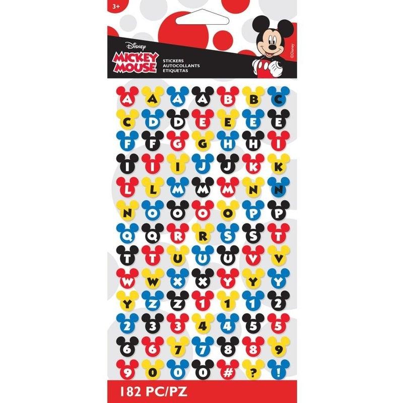 Disney Alphabet Stickers