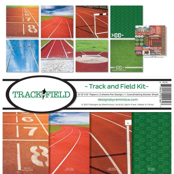 Track and Field Paper Pack