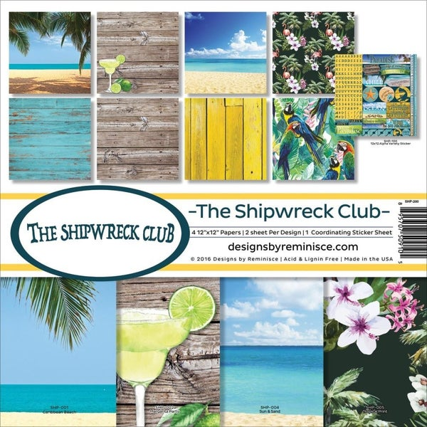 The Shipwreck Club Paper Pack