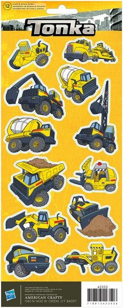 Tonka Truck Construction Stickers