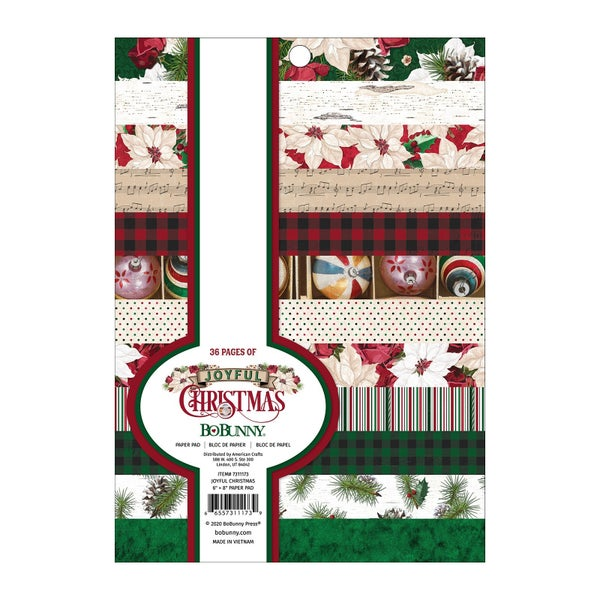 Joyful Christmas 6x8 Paper Pad