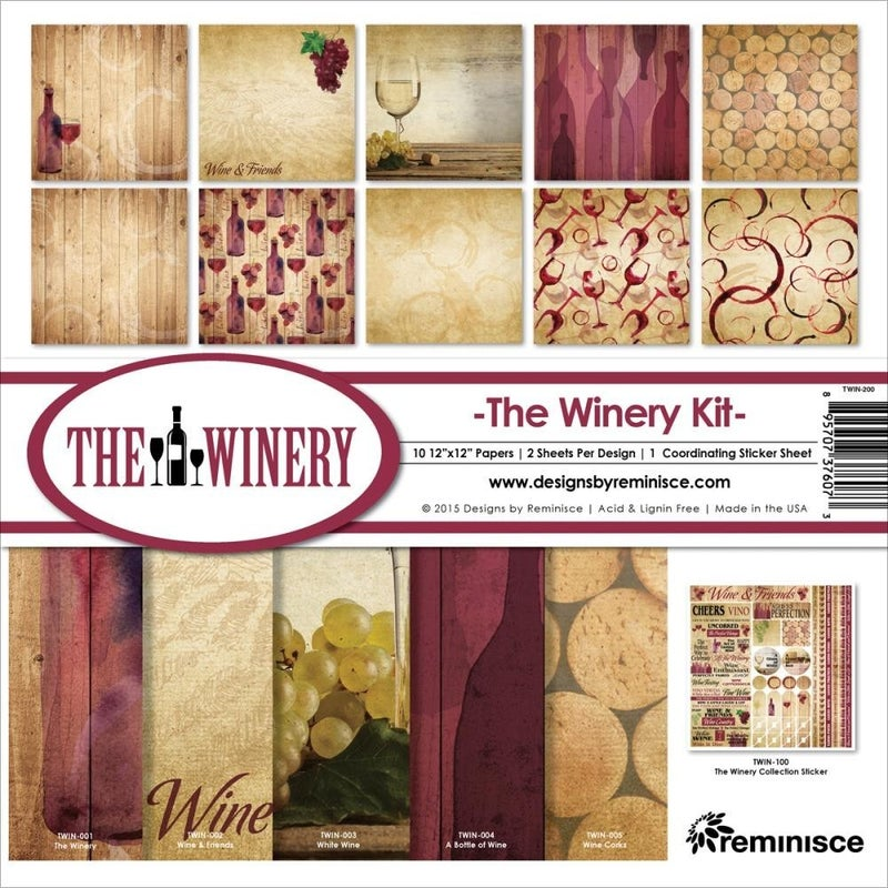Winery Paper Pack