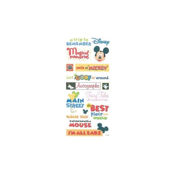 Disney Mickey Stickers & Borders