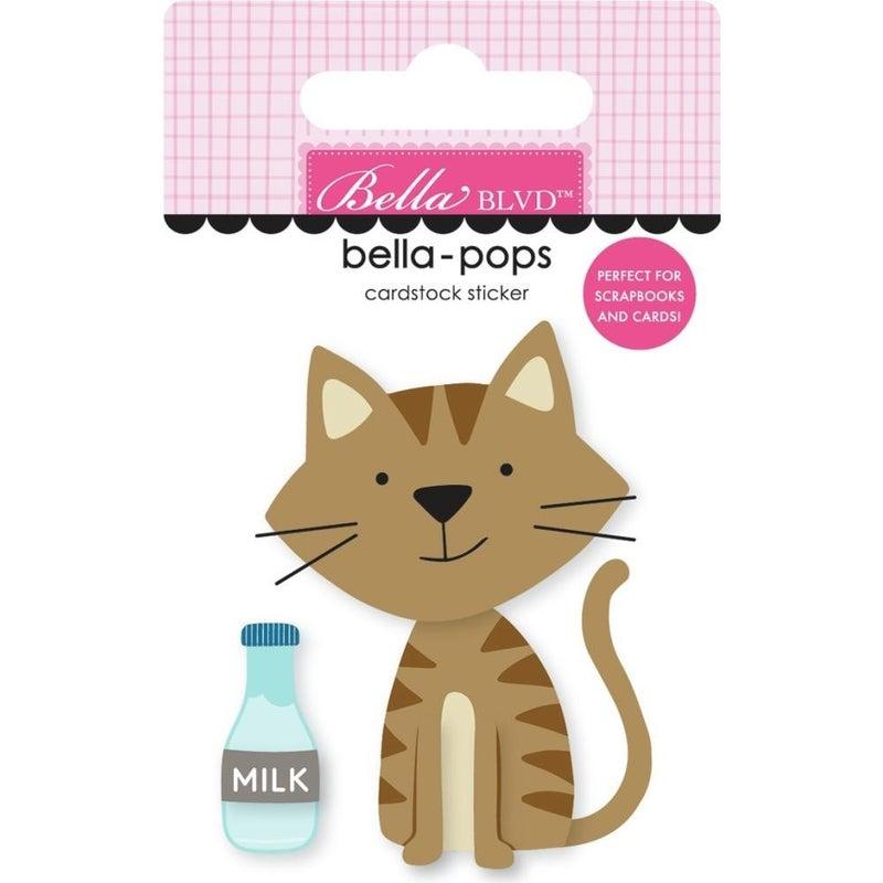 Tabby Cat Bella-pop