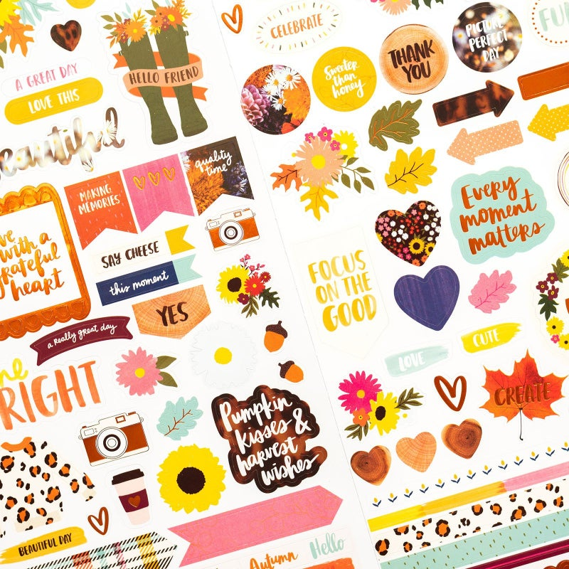 Late Afternoon 6x12 Sticker Sheet