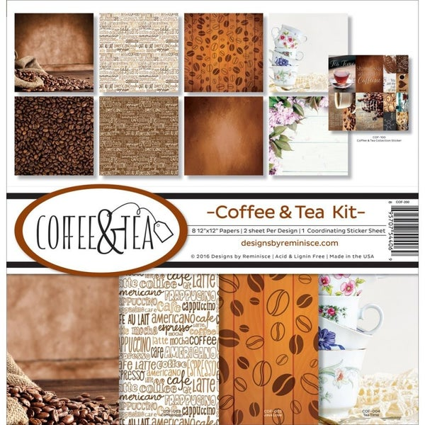 Coffee & Tea Paper Pack