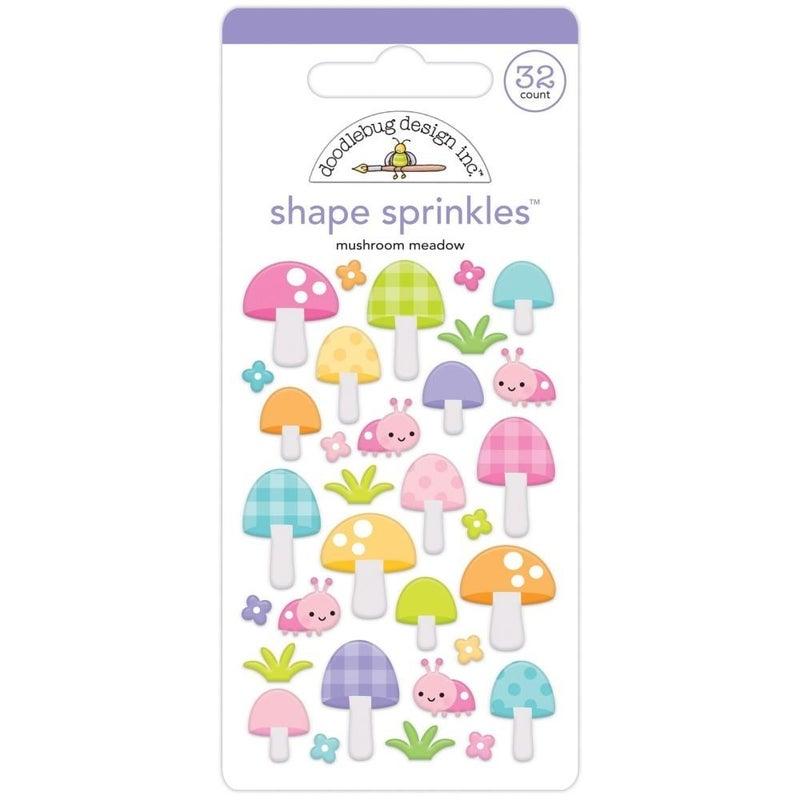 Doodlebug Shapes - Mushrooms