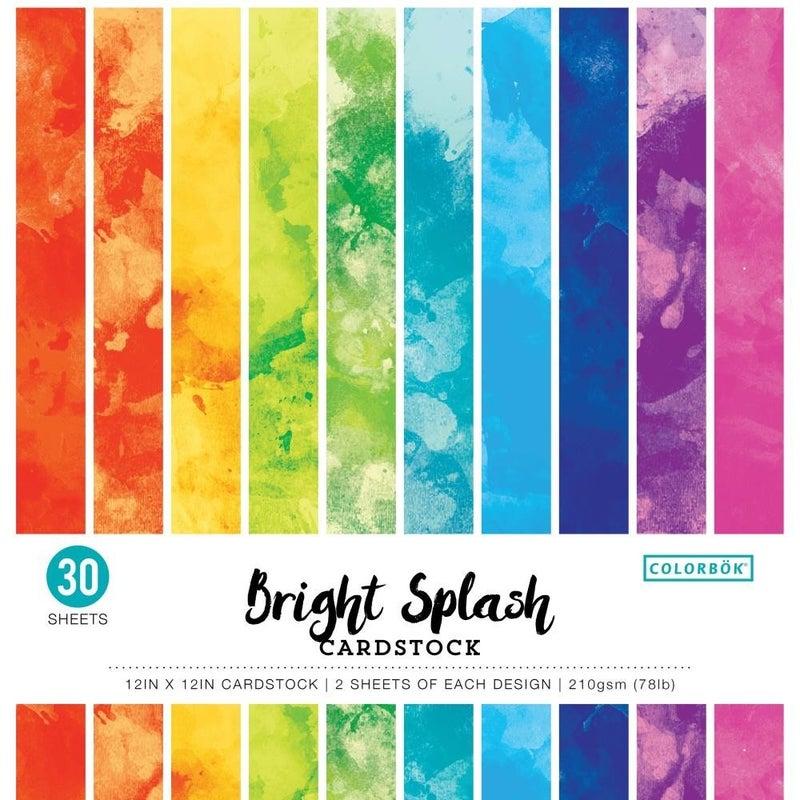 Bright Splash Paper Pack