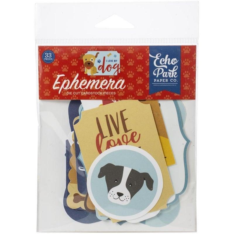 I Love My Dog Ephemera - Icons