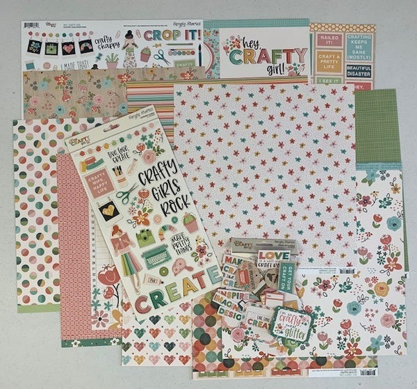 Simple Stories Crafty Girl Value Bundle